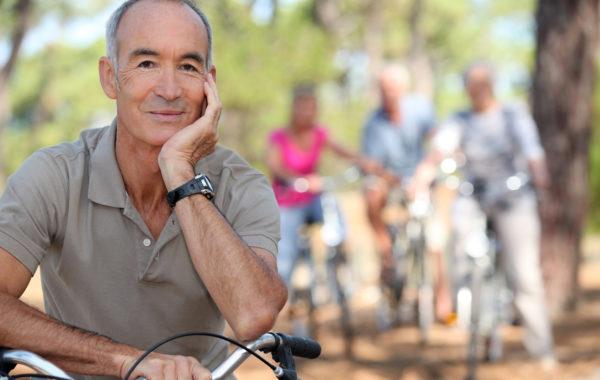 Parkinson: Aktiv bleiben